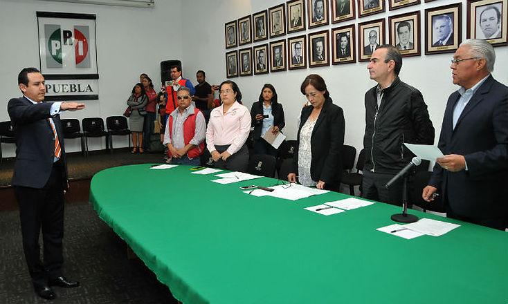 Toma protesta Iván Galindo como Coordinador de Regidores del PRI en municipios de oposición