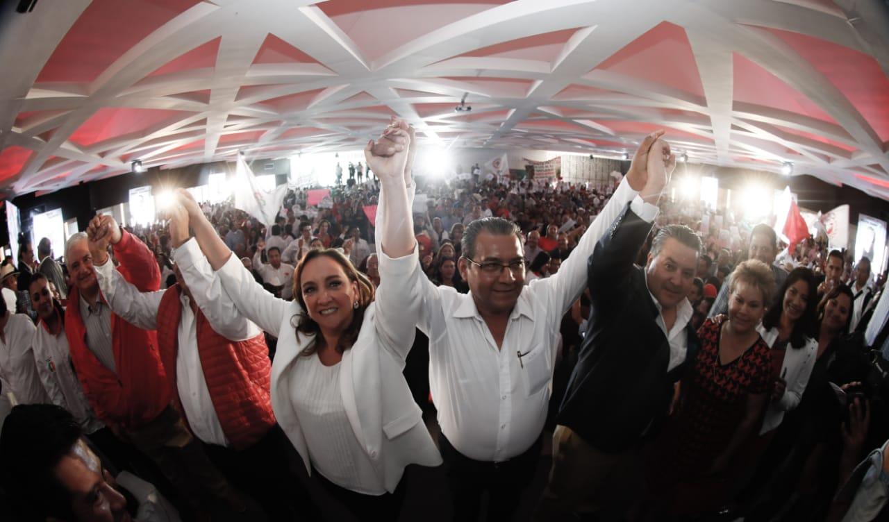 Listo el PRI para construir la nueva historia de Puebla: Ruiz Massieu