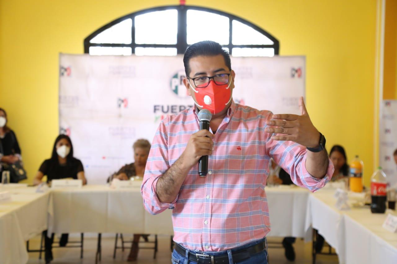 El PRI encabezará alianzas, no será satélite, asegura Camarillo