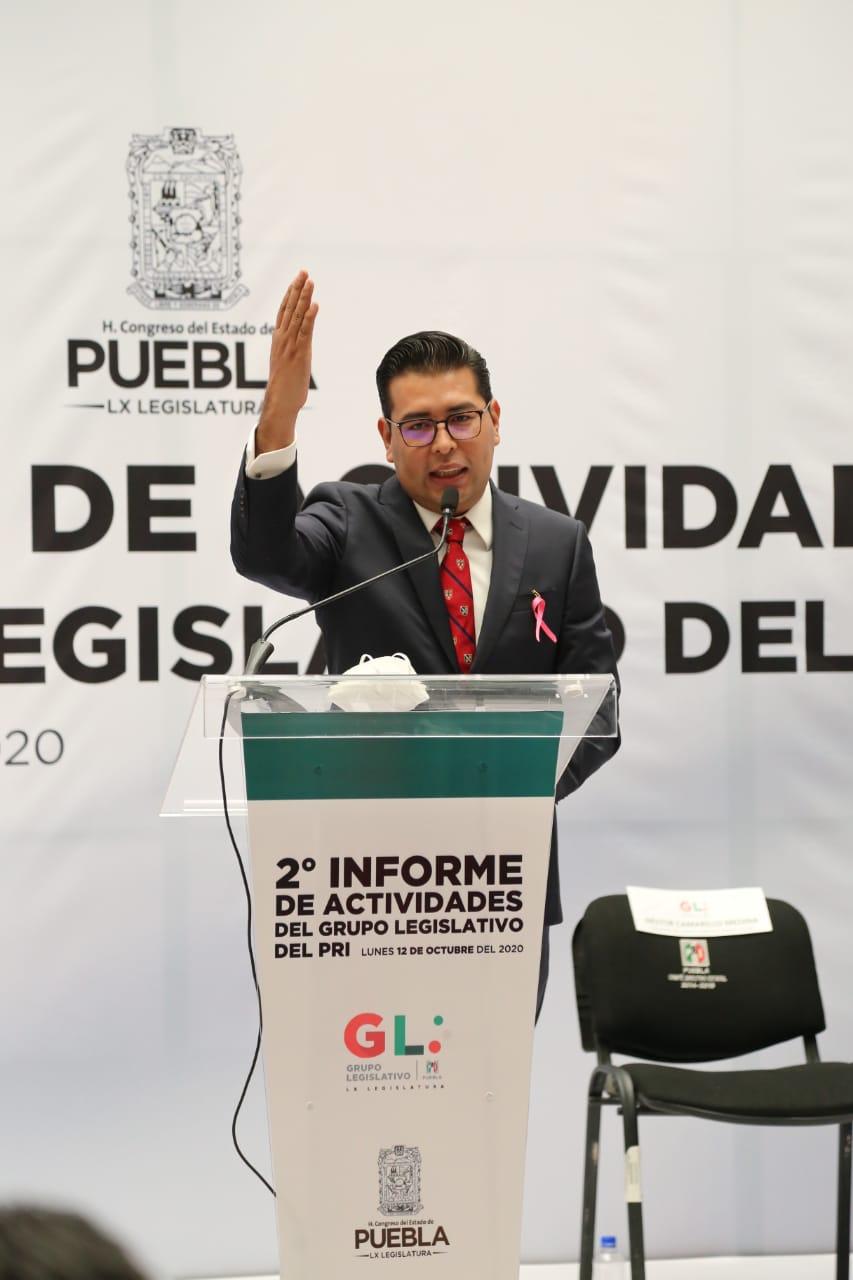 Diputados del PRI apoyan al campo, salud, mujeres e indígenas poblanos