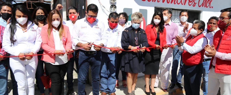 RINDEN PROTESTA NUEVOS DIRIGENTES DE COMITÉS MUNICIPALES DEL PRI PUEBLA