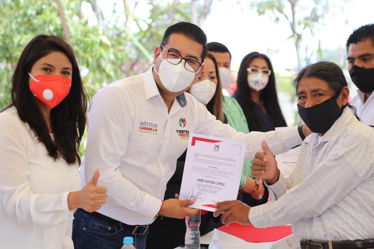 PRI, el partido que ha llevado desarrollo a la Mixteca: Camarillo